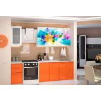 Кухня  с фотопечатью Фантазия 1.6м