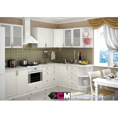 Кухня угловая Юлия (комплектация 7)