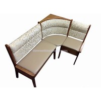 Угловой диван Кристофер с резьбой