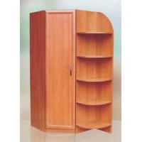 Шкаф угловой с колонкой