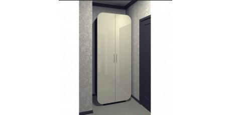 Шкафы распашные глянцевые