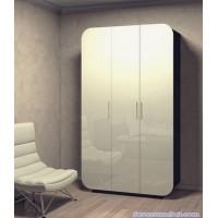 Шкаф Модерн 8 с закругленным фасадом глянец
