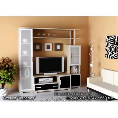 Мебельная стенка Аврелия