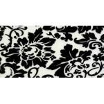 Флоренция черно-белая глянцевая
