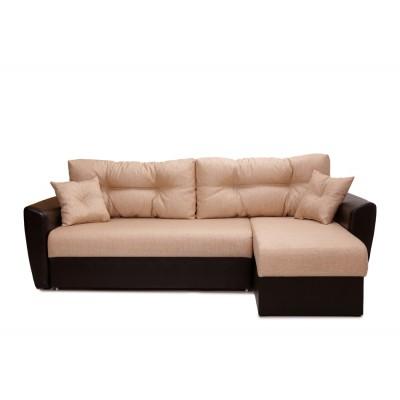 "Угловой диван ""Амстердам"" бежевый"