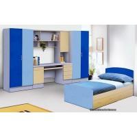 Детская стенка с кроватью гармония-2