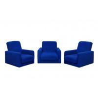 Набор мягкой мебели  Милан синий