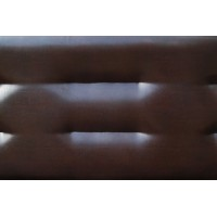 Диван книжка Престиж экокожа коричневая