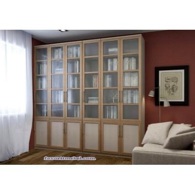 Книжный шкаф библиотека Лира