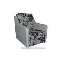 Кресло кровать(ткань рогожка цветы)