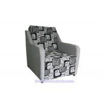 Кресло кровать(ткань рогожка квадраты)