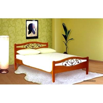 Кровать Азалия(с ковкой)