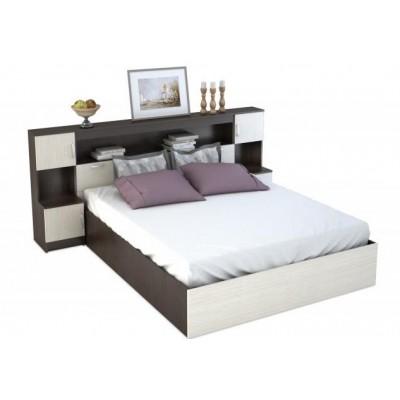 Кровать с прикроватным блоком Бася  КР-552