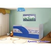 """Детская кровать """"Дельфин"""""""