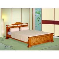Кровать Данко-1 из массива дерева