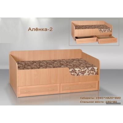 Кровать Аленка-2