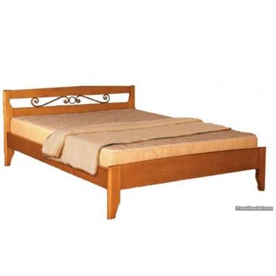 Кровать Полонез с ковкой