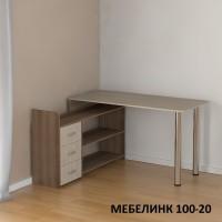 Компьютерный стол Мебелинк-100-20