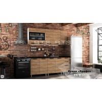Кухонный гарнитур 2,0м Крафт бтс