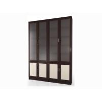 Шкаф библиотека  Мебелайн-8