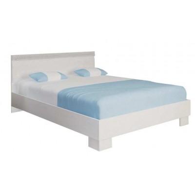Кровать 1600 белая ГЕРТРУДА М8