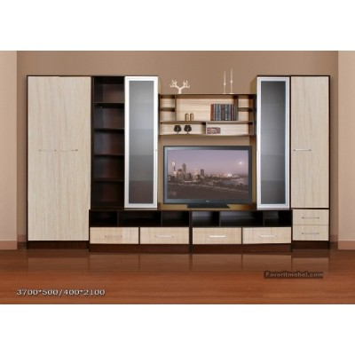 Мебельная стенка Валентина-1