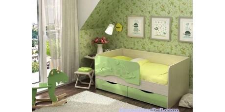 Детские кровати с бортиками и с ящиками от 3 лет