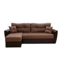 Угловой диван Амстердам  коричневый